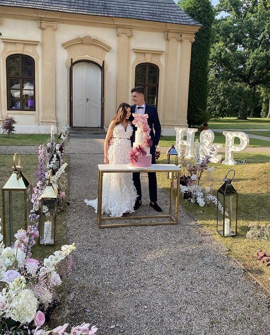 Svatbu měli na zámku