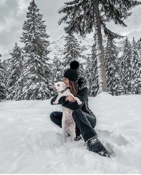 Nikol Švantnerová měla obrovský strach o svého psího miláčka.