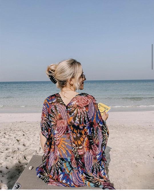 Mariana Prachařová odpočívá ve Spojených arabských emirátech.