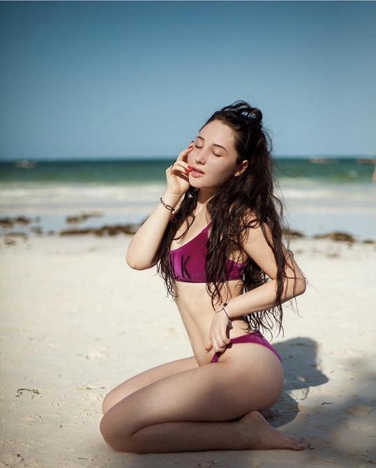 Natálie Grossová je aktuálně na Zanzibaru.