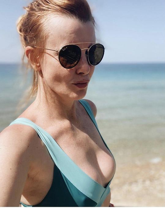 Jitka Schneiderová vyrazila na dovolenou do Řecka.