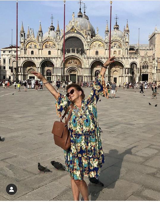 V Benátkách strávila celý den. Pak se skupina vrátila do Rakouska.