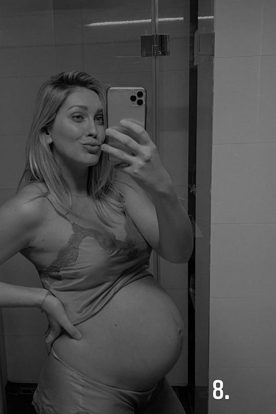 Zorka Hejdová je v 8. měsíci těhotenství.