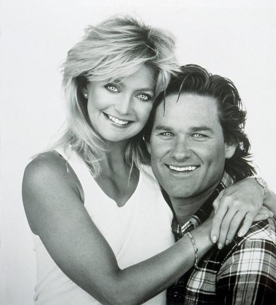 Russell se svou životní partnerkou Goldie Hawn na snímku z roku 1990