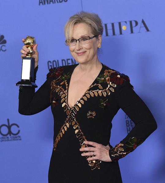 Meryl Streep není jedno, jak se chová budoucí americký prezident.