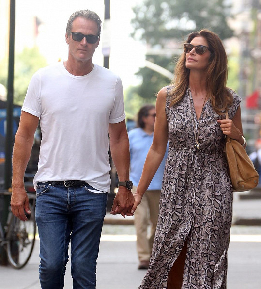 Cindy Crawford s manželem Randem Gerberem