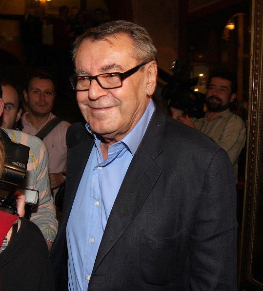 Antonie je vnučkou slavného režiséra Miloše Formana.