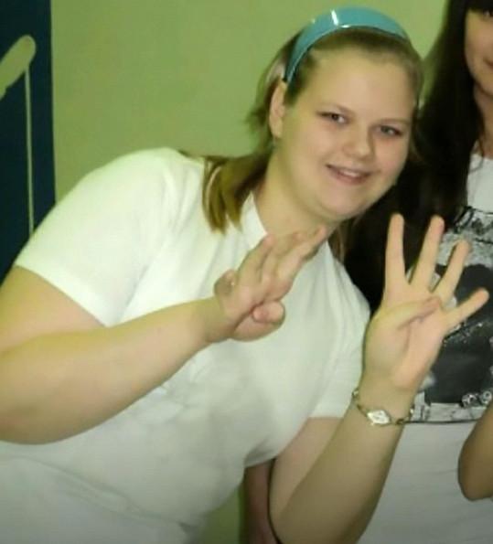 Ve čtrnácti Jekatěrina Peškova vážila 91 kilogramů.