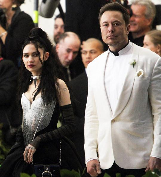 Grimes a Elon Musk se rozešli.