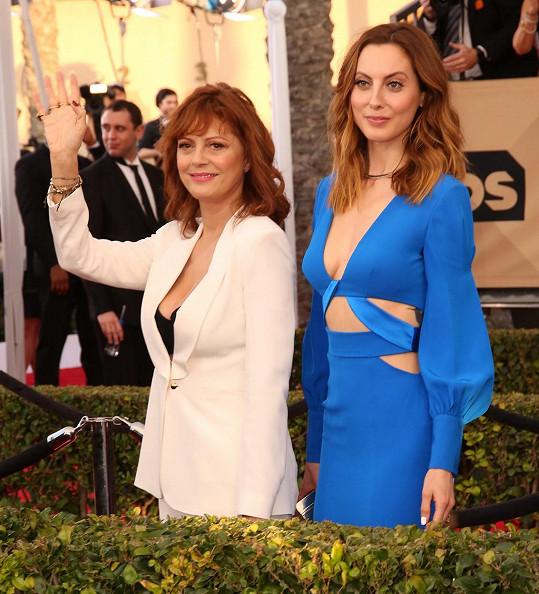 Eva je stejně jako její maminka Susan Sarandon herečkou.