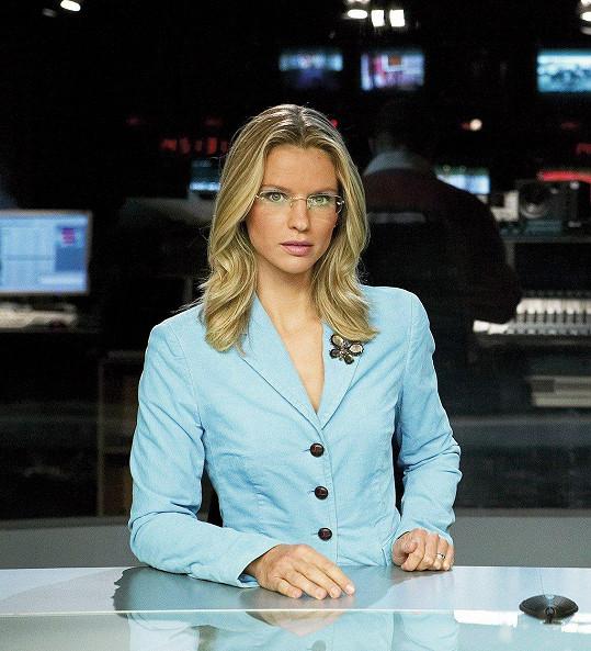 Pavla Charvátová moderovala před více než deseti lety Televizní noviny.