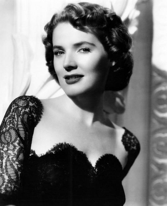 Polly Bergen na fotce z mládí
