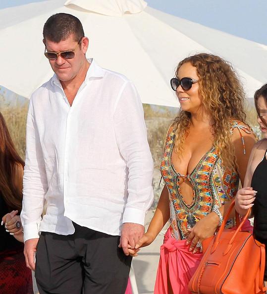 Začátkem měsíce spolu milenci byli na dovolené na Formenteře.
