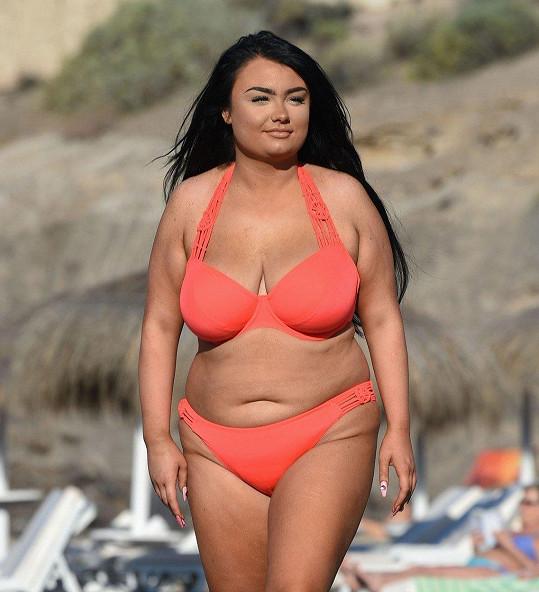 Faith Mullen si dopřává volno na Tenerife.