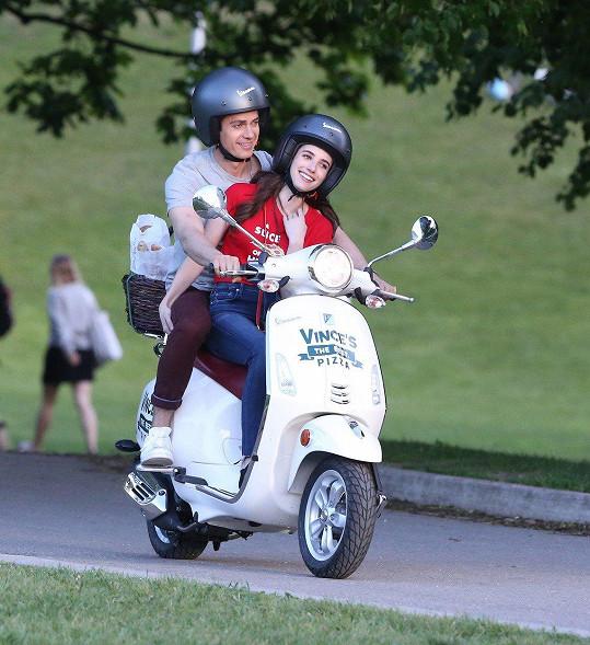 Hayden Christensen a Emma Roberts v Kanadě natáčeli romantický film Little Italy.
