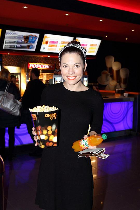Premiéru si nenechala ujít ani Míša Nosková.