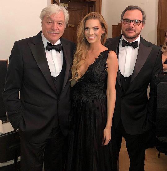 Andrea s Jurajem a Filipem Kukurovými