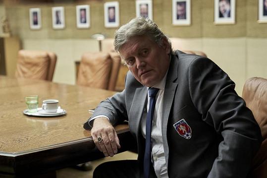 Miroslav Hanuš jako fotbalový boss
