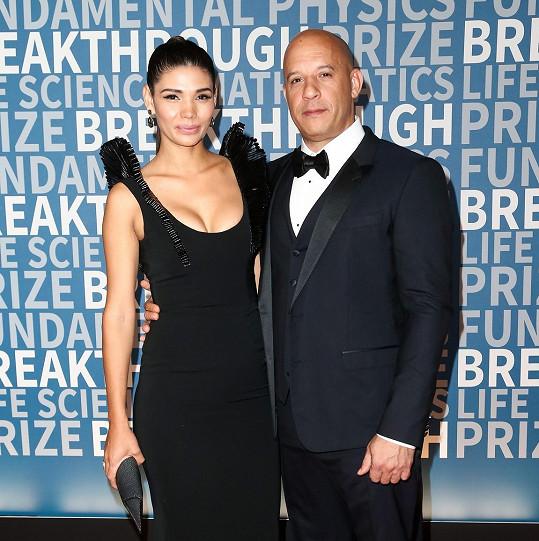 Vin Diesel s letitou partnerkou Palomou Jimenez