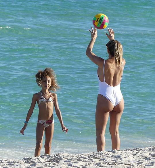 Larsa Pippen s dcerou