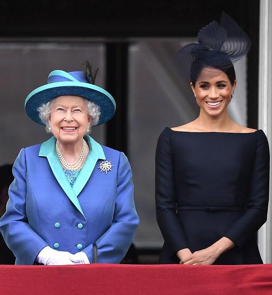 Meghan promluvila o královně Alžbětě II.