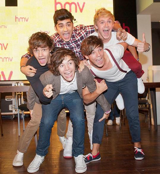 Liam se proslavil v kapele One Direction.