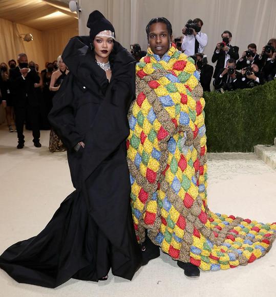 Rihanna s partnerem ASAP Rockym