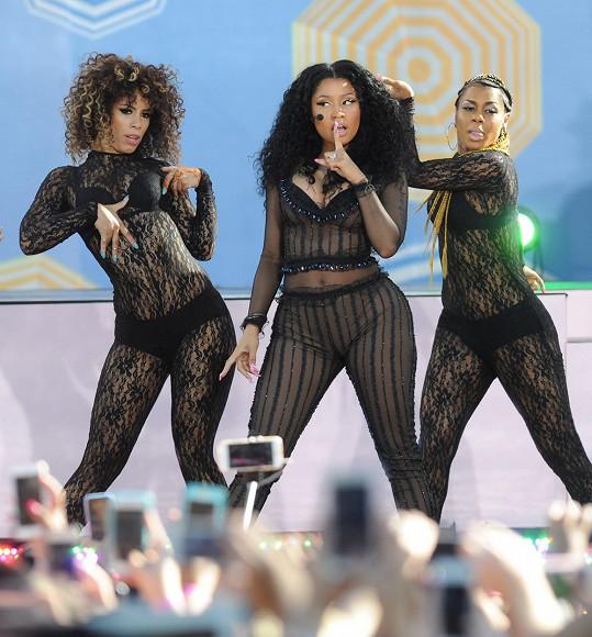 Zpěvačka vystoupila v rámci letních koncertů ranní relace Good Morning America.