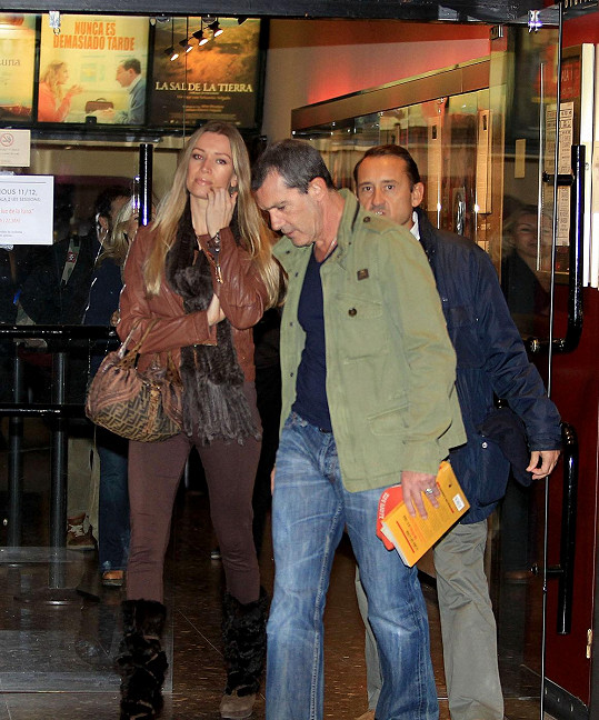 Nicole Kimpel s Antoniem Banderasem