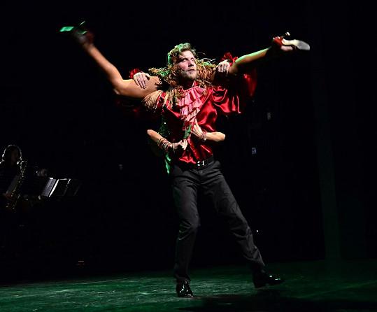 Jaromír Nosek s tanečnicí Libuší Hybšovou se toho nebáli.