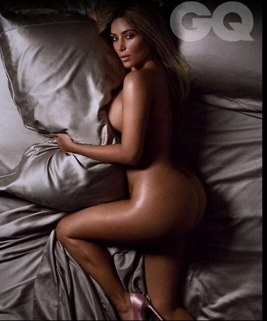 Kim se odhalila na titulce časopisu.