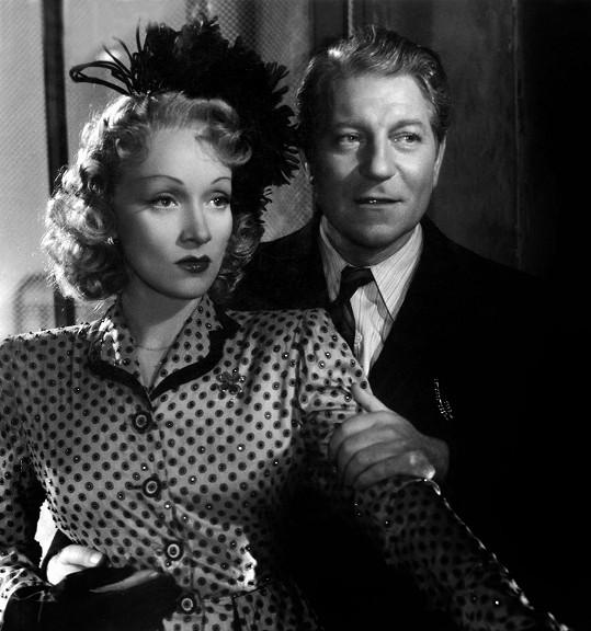 Mezi slavné milence Marlene patřil například Jean Gabin.