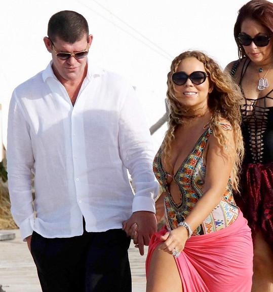 Mariah po nevydařeném manželství s Nickem Cannonem zakotvila u Jamese Packera.
