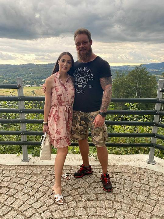 Týnuš Třešničková se svým otcem Martinem
