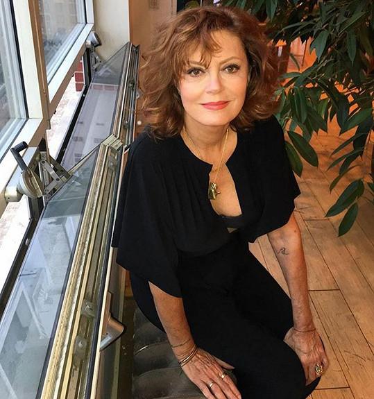 Susan Sarandon popírá svůj věk.