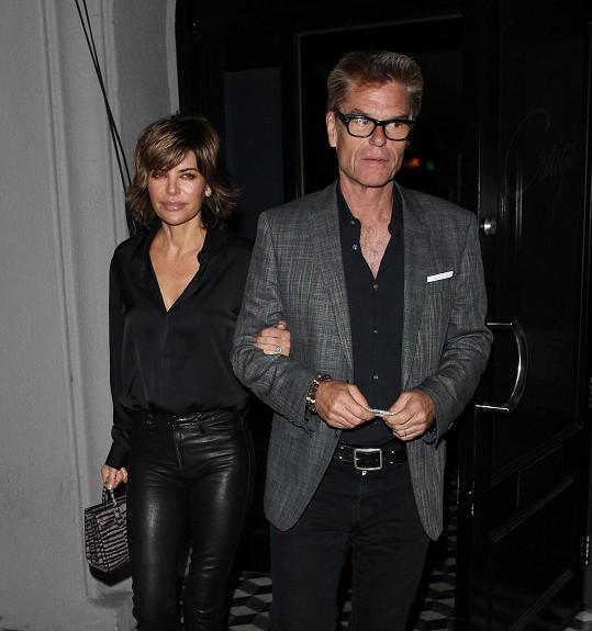 Rinna s manželem Harrym Hamlinem