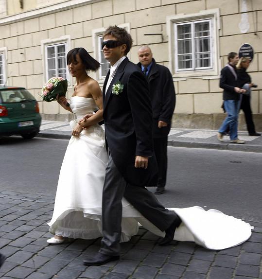 Manželství ale nevydrželo.