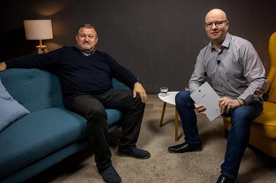 Werichův syn v rozhovoru v pořadu Face To Face s moderátorem René Kekelym
