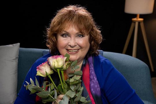 Naďa Konvalinková oslavila 70. narozeniny.