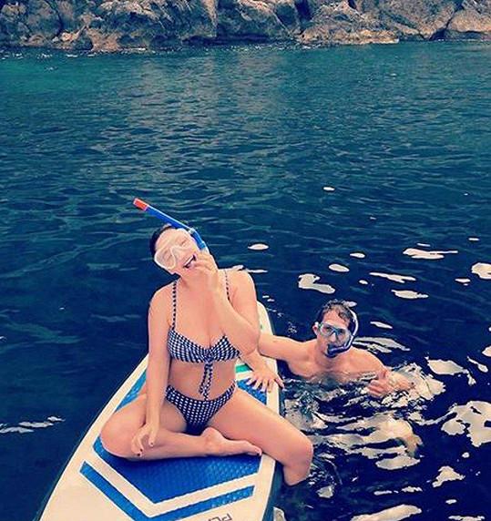 Kelly a Jeremy si užívali romantickou dovolenou.