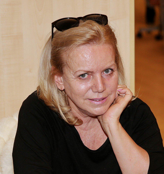 Hana Krampolová před dvěma lety na první akci po propuštění z psychiatrické léčebny