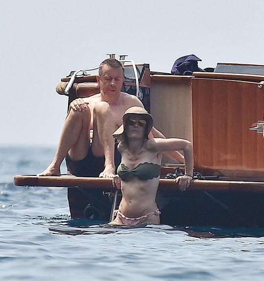 Herečka vyrazila s přítelem na dovolenou do Itálie.