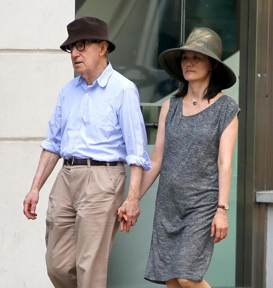 Woody s manželkou Soon-Yi