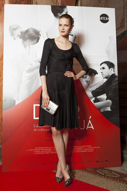 Magdalena Langrová v minulosti pro francouzský módní dům pracovala.