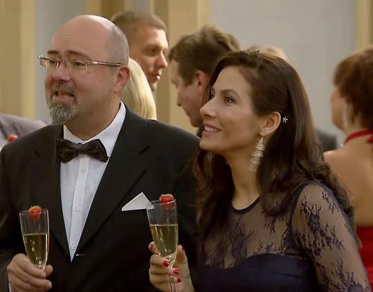 Eva si v seriálu zahrála manželku starosty.