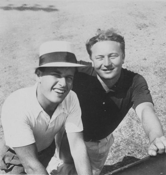 Jan Werich vytvořil legendární dvojici s Jiřím Voskovcem.