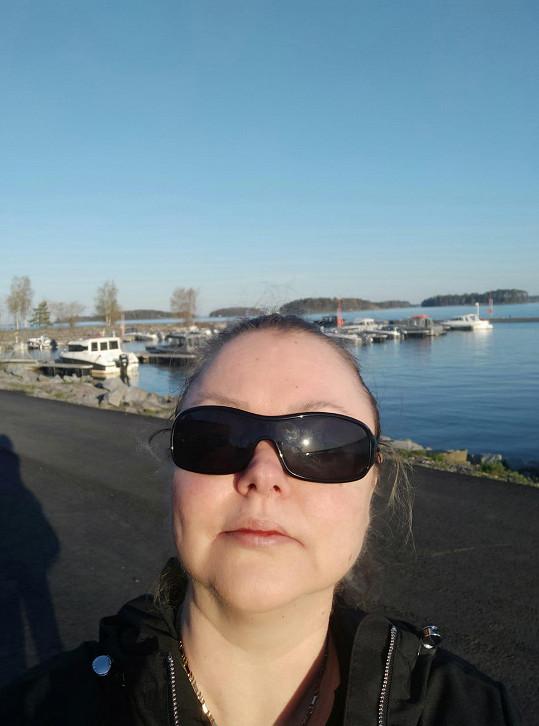 Dominika Gottová je ve Finsku nyní šťastná.