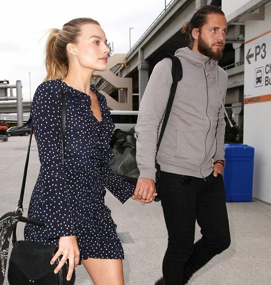 Margot Robbie s manželem