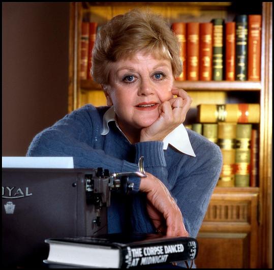Angela ve své nejslavnější roli jako Jessica Fletcherová v seriálu To je vražda, napsala