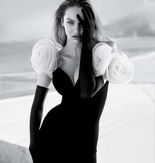 Candice patří k úspěšným světovým modelkám.